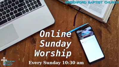 Online Sunday Worship SMALL