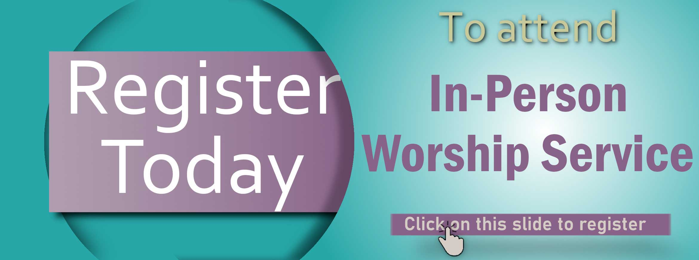Worship In Person plus link